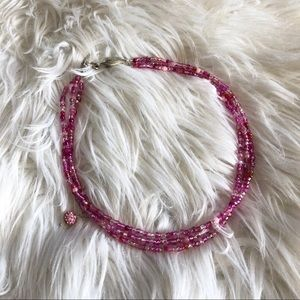 Pink Layered Necklace